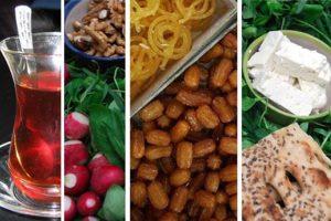 چه سحری بخوریم که تا افطاری احساس گرسنگی و تشنگی نکنیم؟