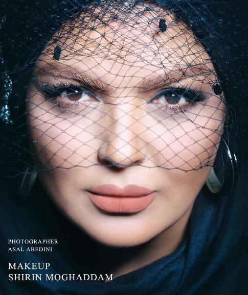 مدل آرایشی شهرزاد عبدالمجید