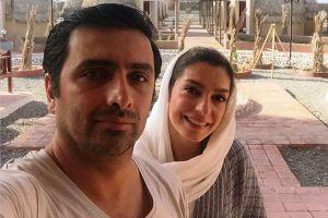 عکس جدید الیکا عبدالرزاقی و همسرش به عنوان مدل تبلیغاتی!