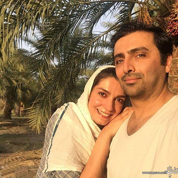 عکس های الیکا عبدالرزاقی و همسرش امین زندگانی با لباس محلی