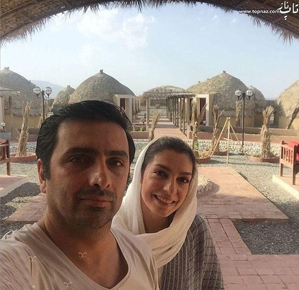 عکس های الیکا عبدالرزاقی و همسرش امین زندگانی با لباس محلسی