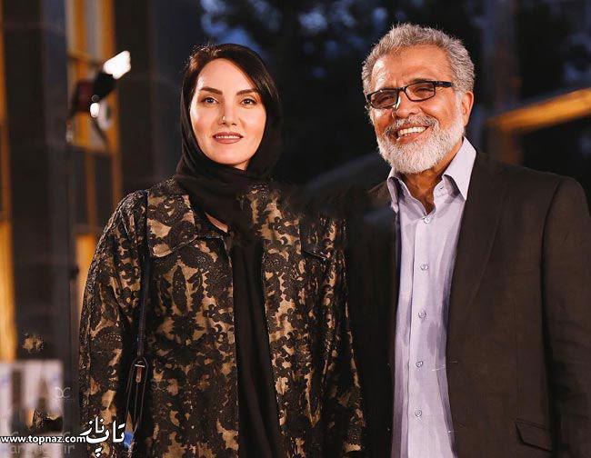 عکس بازیگران و همسرانشان - مرجان شیرمحمدی با همسرش بهروز افخمی در جشن حافظ