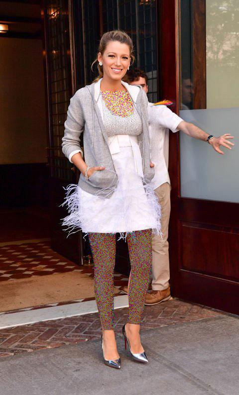 مدل لباس بارداری بلیک لایولی Blake Lively