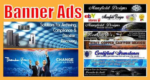 تبلیغات بنری موثر و پربازده در سایت ها
