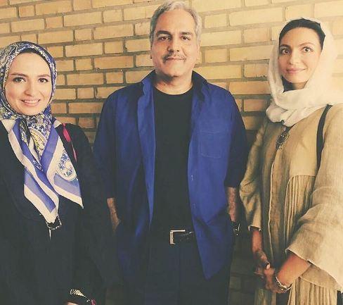 عکس جالب از شباهت گلاره عباسی و خواهرش
