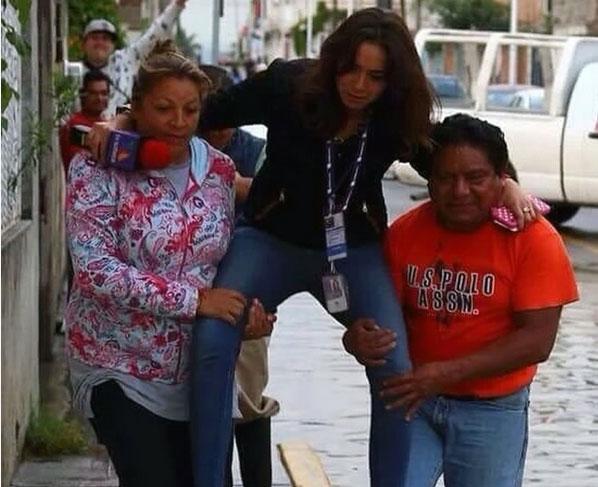 عکس از کار غیر اخلاقی مجری زن که باعث شد اخراج شود!