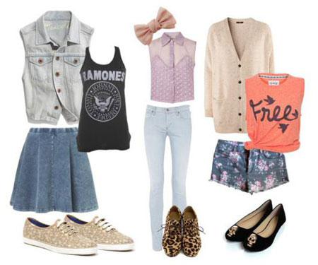 ست کردن انواع لباس با شلوارک های تابستانی