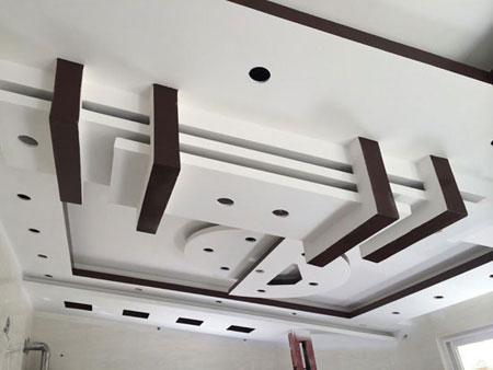 عکس هایی از مدل های سقف کناف