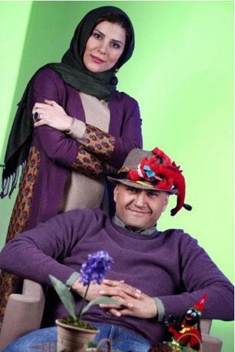رامبد حوان و همسرش