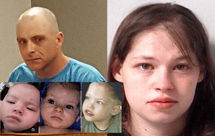 زن قاتلی که سه فرزندش از رابطه جنسی نامشروع را کشت! (عکس)