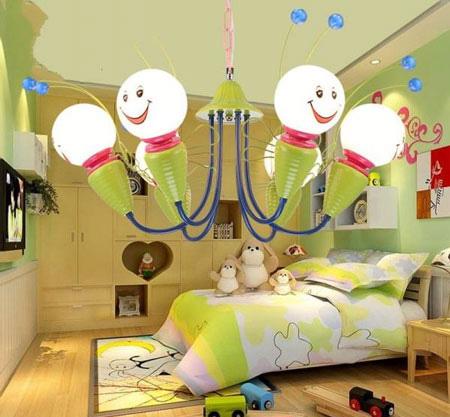 عکس های مدل لوستر اتاق خواب کودک