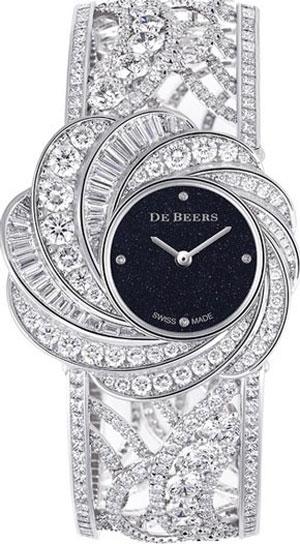 ساعت مچی تمام الماس آریا از دیبیرز