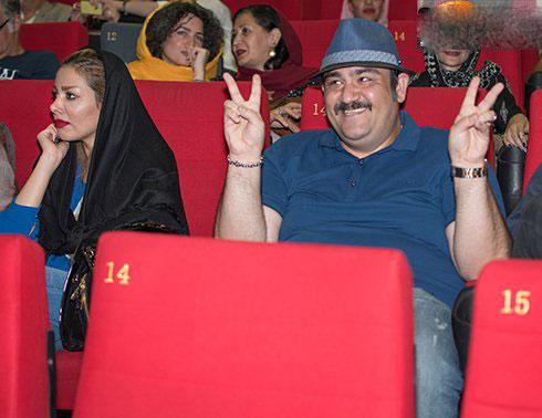 عکس های با نمک مهران غفوریان در کنار همسرش
