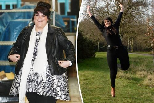 کاهش وزن عجیب و باور نکردنی خواننده چاق و بدهیکل زن! (عکس)