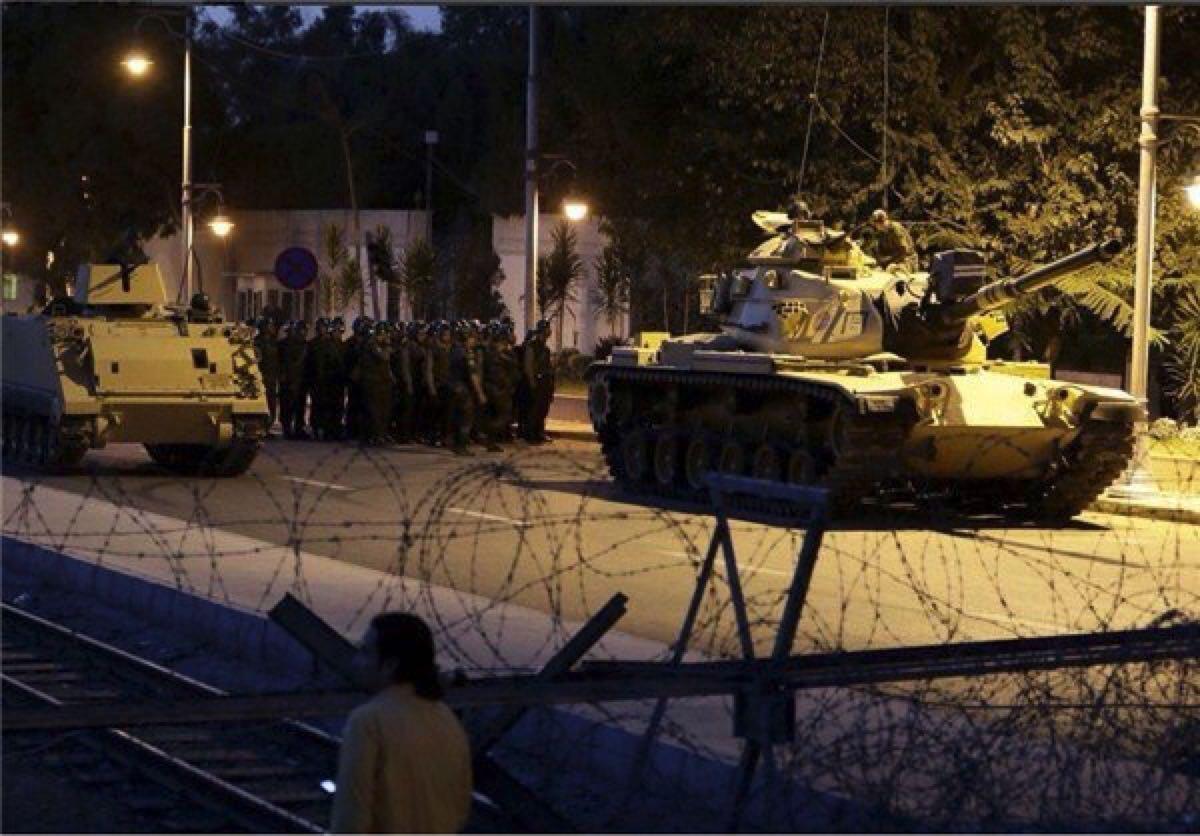 """عکس های """"کودتا در ترکیه"""""""