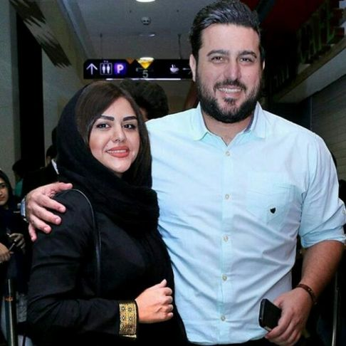 عکس دیده نشده محسن کیایی و همسرش
