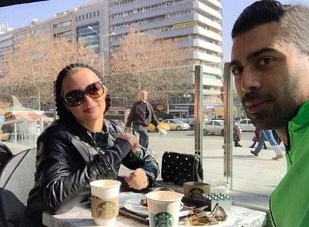 روناک یونسی و همسرش محسن خیری