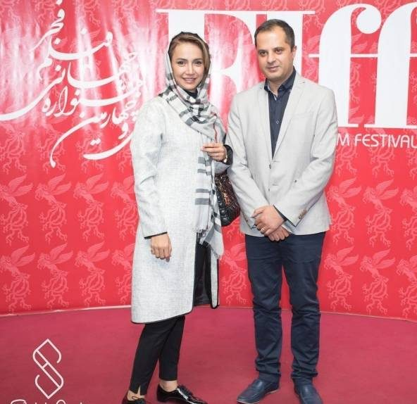 شبنم قلیخانی و همسرش