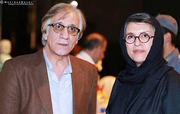 استاد مسعود رایگان و همسرش رویا تیموریان