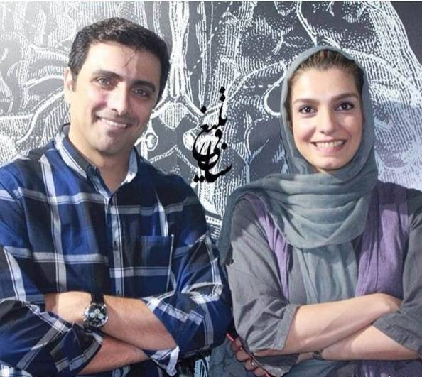 الیکا عبدالرزاقی و همسرش امین زندگانی