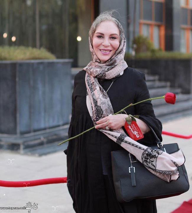 عکس افسانه بایگان در جشن حافظ