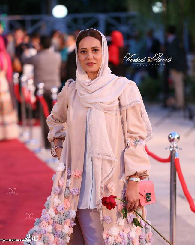 عکس پریناز ایزدیار در جشن حافظ
