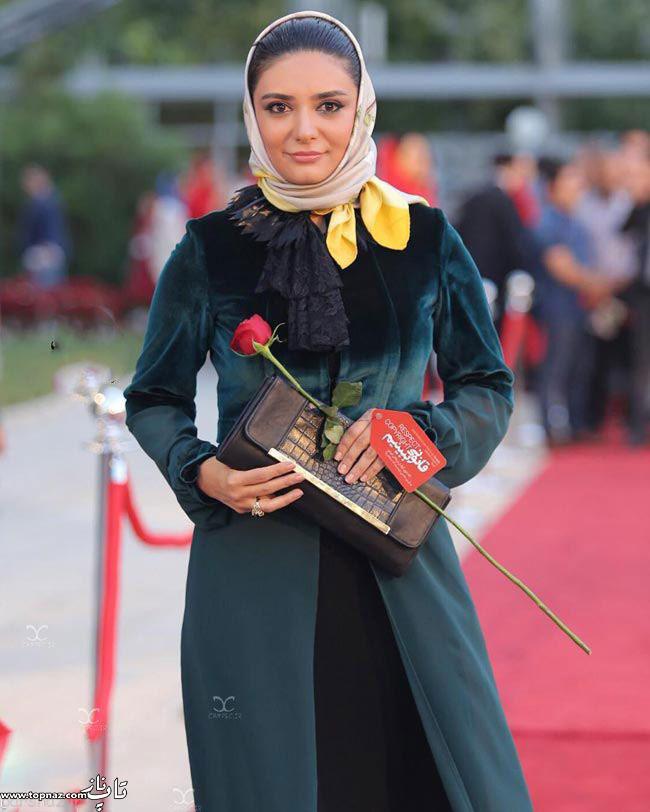 عکس لیندا کیانی در جشن حافظ