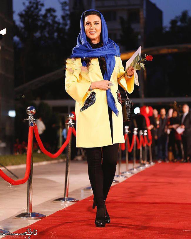 عکس لیلا بلوکات در جشن حافظ