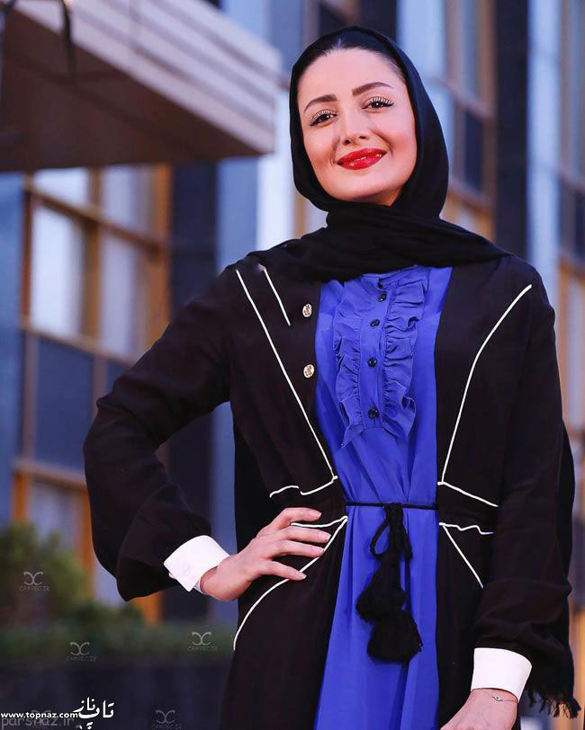 عکس شیلا خداداد بر روی فرش قرمز جشن حافظ