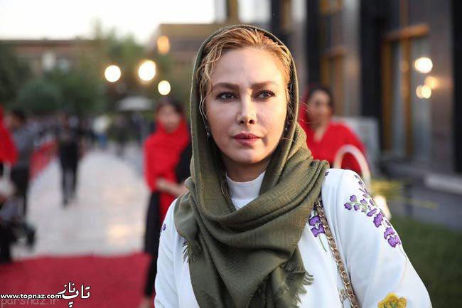 عکس آنا نعمتی در جشن حافظ