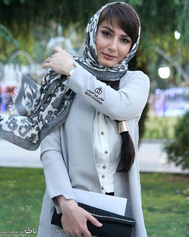 عکس سمیرا حسن پور در جشن حافظ