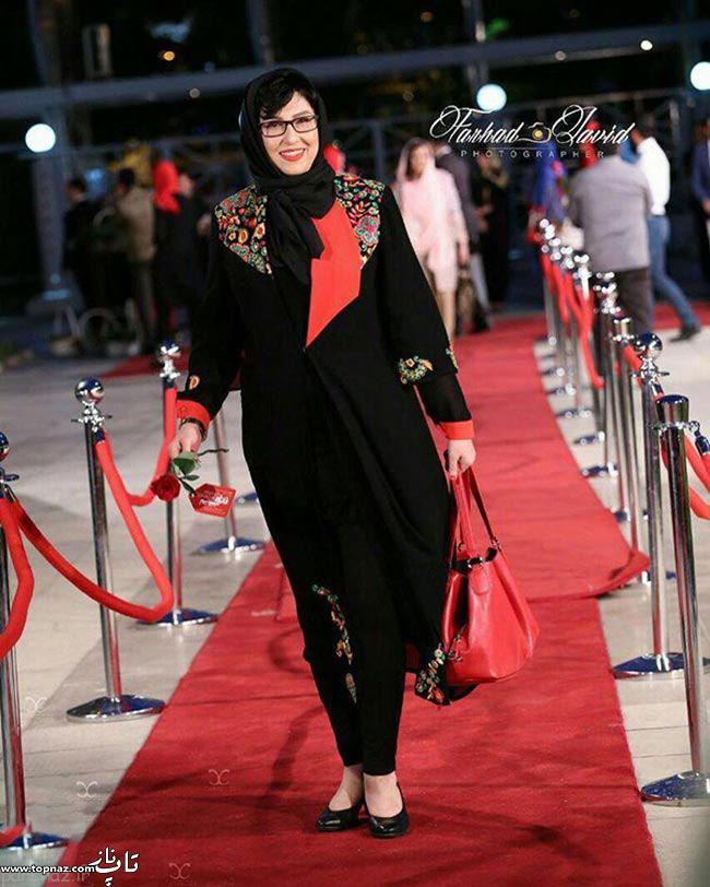 عکس معصومه کریمی در جشن حافظ