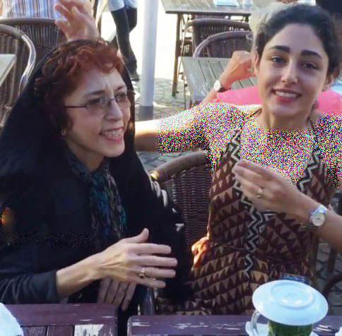 عکس گلشیفته فراهانی و مادرش