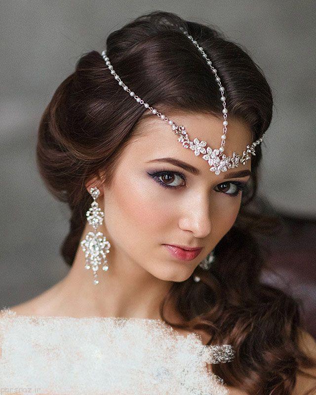 عکس های مدل های آرایش عروس در سال 2017