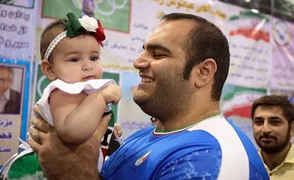 Photo of عکس همسر بهداد سلیمی و همسر و دخترش پس از المپیک