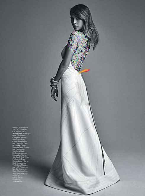 جدیدترین عکسهای جسیکا آلبا Jessica Alba روی مجله آمریکایی ووگ Vogue