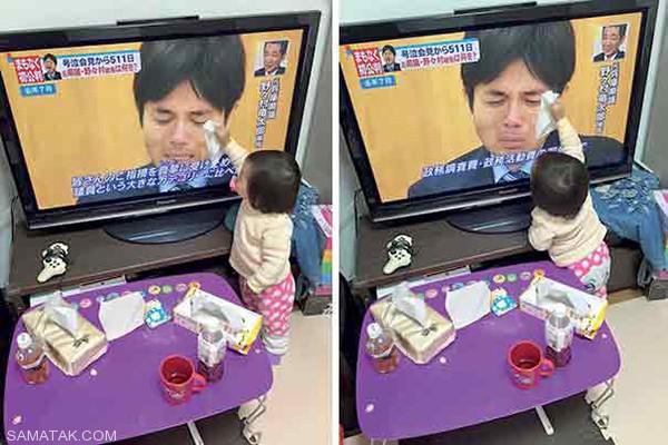 دختر مهربان ژاپنی