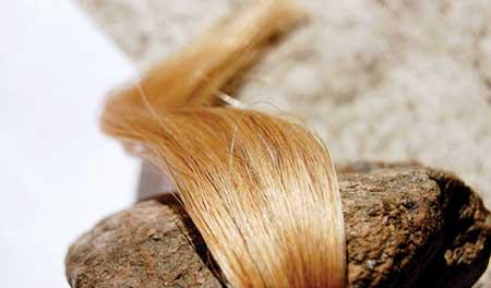 مدل رنگ مو خرمایی رنگ