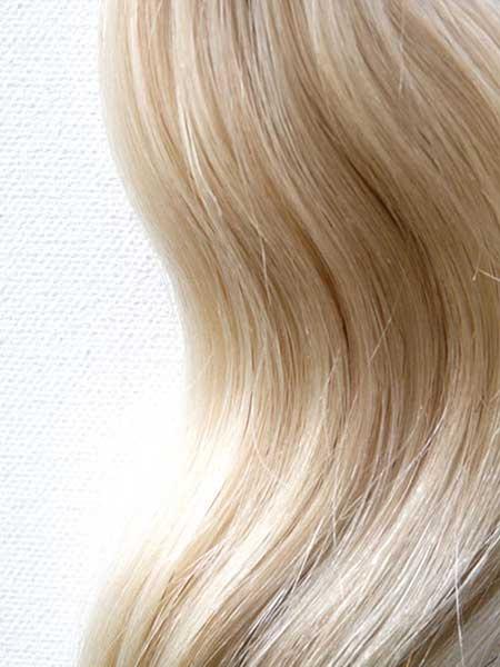 مدل رنگ مو بلوند برفی