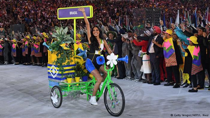 زن تراجنسیتی در مراسم المپیک