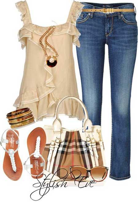 ست های ساده لباس تابستانی