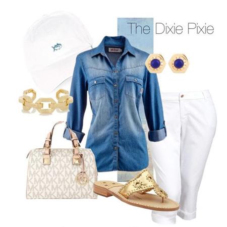 شلوار سفید جین