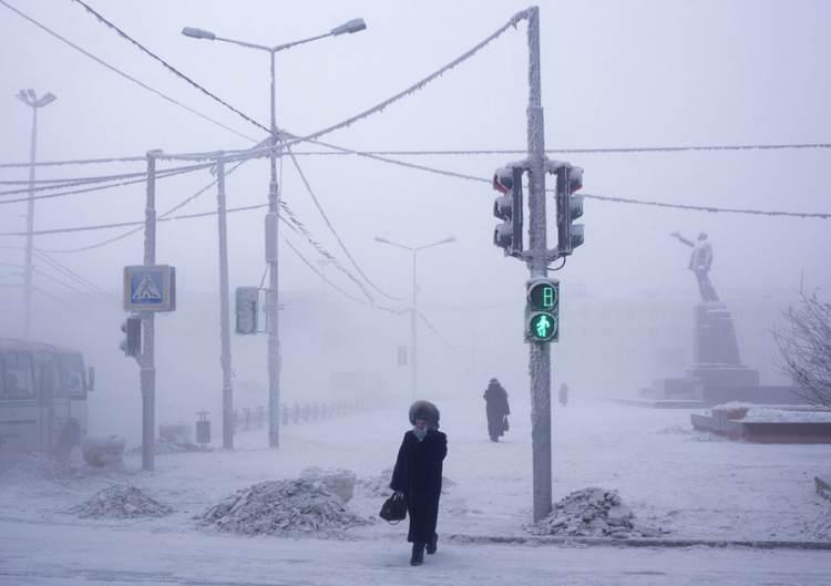 یاکوتسک، روسیه؛ سردترین شهر جهان