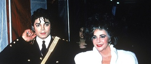 مایکل جکسون و الیزابت تیلور