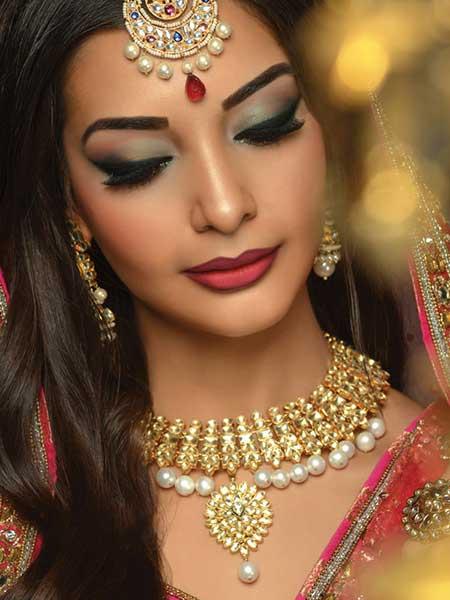 عکس های مدل آرایشی هندی