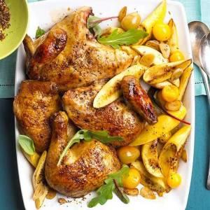 طرز تهیه مرغ با کدو