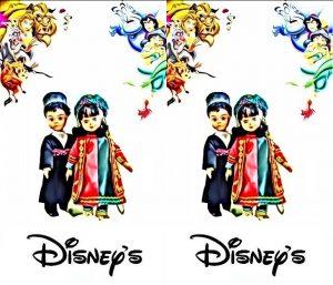 پوستر ایرانی دارا و سارا به تایید والت دیزنی رسید
