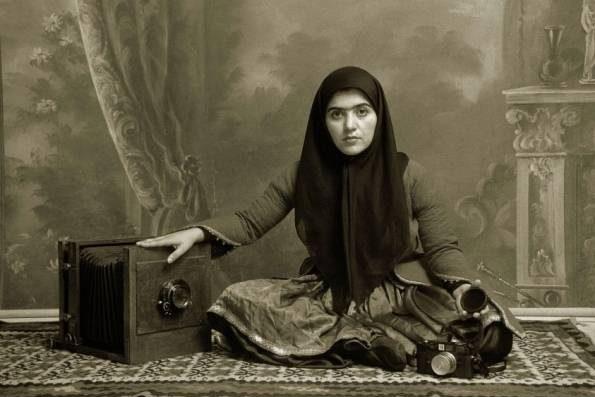 عکس دختر ایرانی در صد سال پیش