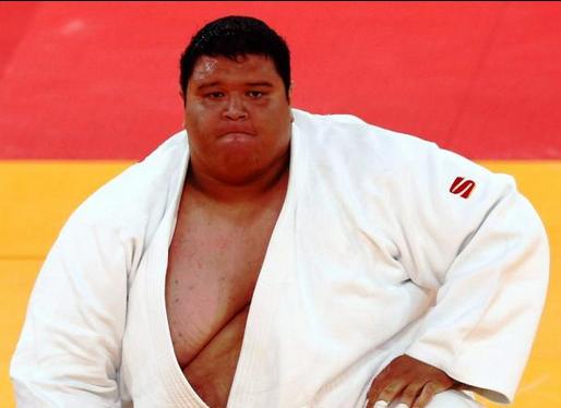 عکس های چاق ترین ورزشکار المپیک که رکوردشکنی کرد!