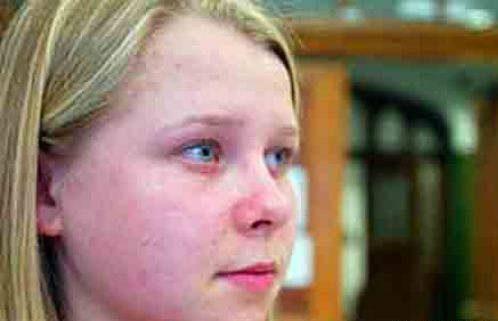چشمان دختر روس